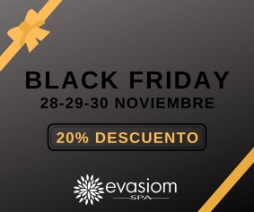 Black Friday en Evasiom Spa